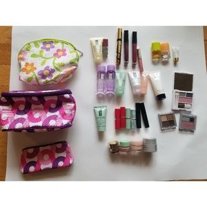 30 piece lot NEW Clinique & Estee Lauder cosmetics